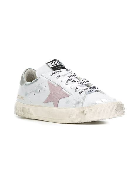 golden goose deluxe brand may sneakers in white lyst