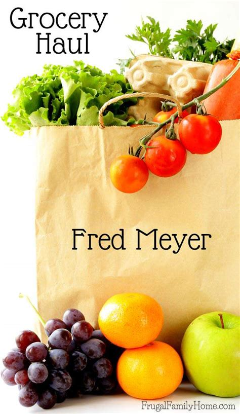 Here Is One Way To Haul In 40 Million A Year by Fred Meyer Grocery Haul 40 Frugal Family Home