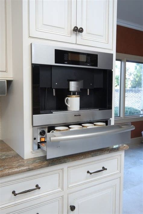 built in coffee maker a house a home