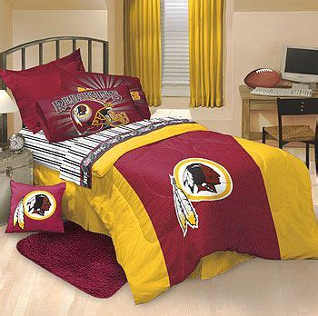 Redskins Bedroom Curtains Washington Redskins Bed Sets And Bedroom Decor On