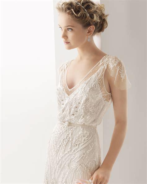 Brautkleider 30er Jahre by Die Neue Brautmoden Kollektion 2014 Rosa Clara