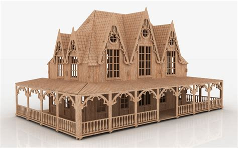 free pattern doll house 18 simple victorian dollhouse plans free ideas photo