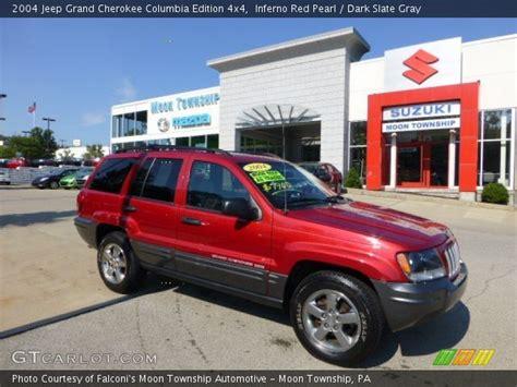 2004 Jeep Grand Columbia Edition Inferno Pearl 2004 Jeep Grand Columbia
