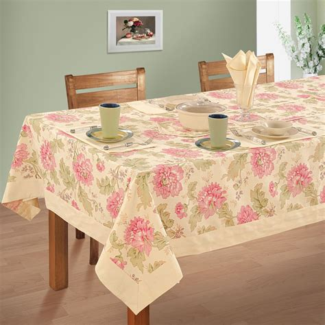 Dining Table Cloth Table Linen Dining 6 Seater Kitchen Dinner Table Cloth Napkins Set