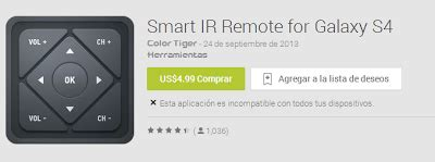 smart ir remote apk smart ir remote samsung htc v 1 6 0 apk