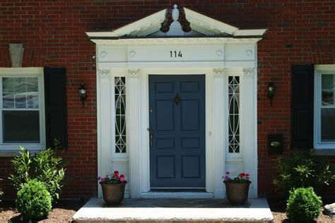 white house front door red front door color for brick house demonstrated two tones floors elegant homes showcase