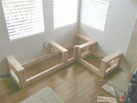 kitchen nook bench seating corner bench crafts pinterest benches screw it and