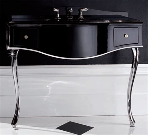bathroom console tables black lacquered console table bathroom console vanity by