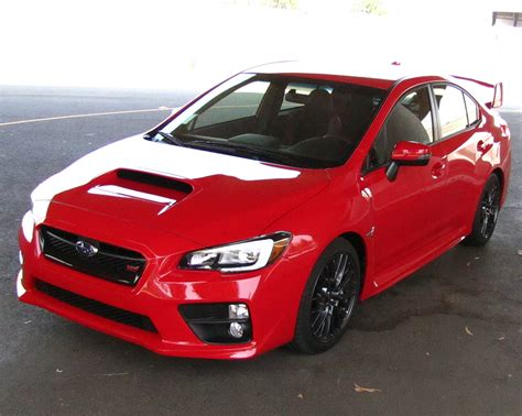 subaru sti 2016 red easy 2015 2016 subaru wrx sti performance upgrade from k n
