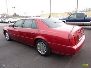 2002 Dts Cadillac Crimson Pearl 2002 Cadillac Dts Exterior Photo