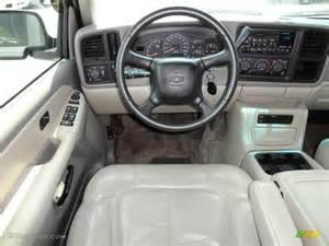 1995 Chevy Silverado Interior 2002 Chevrolet Tahoe Ls Medium Gray Neutral Dashboard