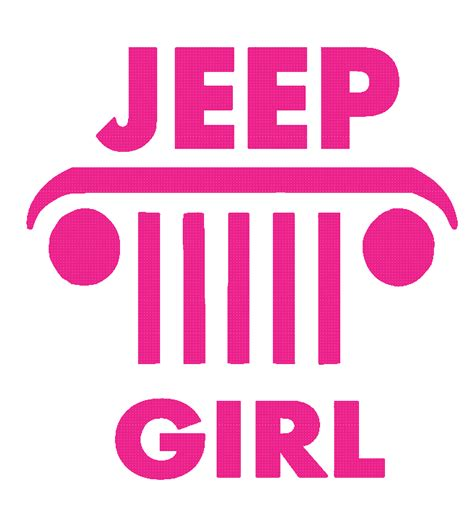 jeep stickers for girls jeep 2 vinyl decal sticker stebear s graphix