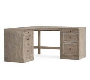 pottery barn corner desk livingston corner desk pottery barn