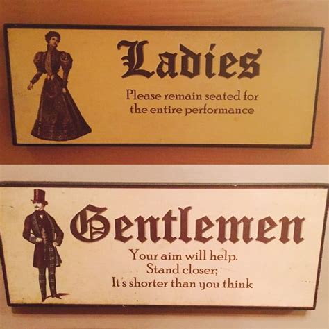 novelty bathroom signs 20 most creative bathroom sign designs
