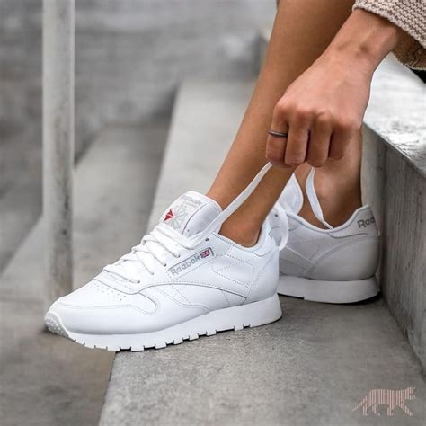 Sneaker White sneakers reebok classic white 169 asphaltgold