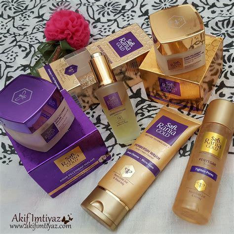Produk Pembersih Wajah safi rania gold penyelesaian efektif untuk kulit wajah