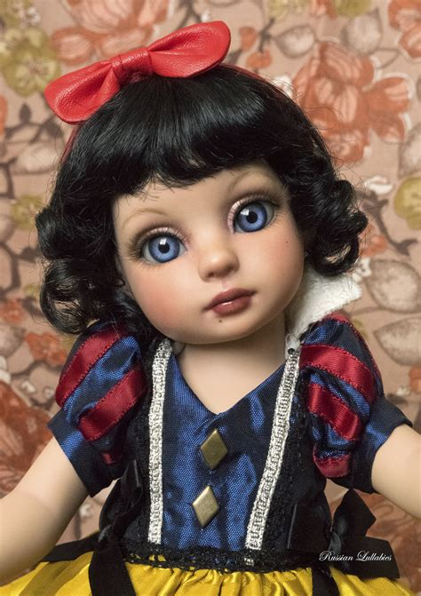 repainted patsy doll by tonner with estelle also tonner with upgraded lashes