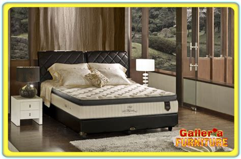 Bed Matras Elite Majestic Uk 160 harga elite springbed murah toko galleria furniture bandung