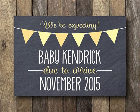 printable pregnancy announcement chalkboard pregnancy reveal