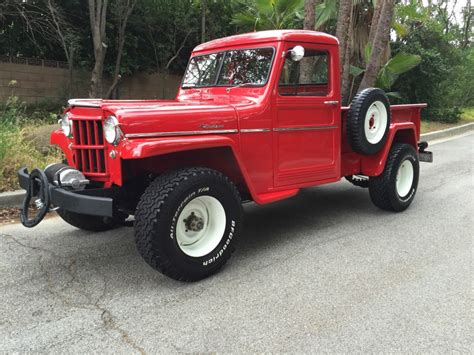 jeep truck for sale 1957 jeep willys up truck road for sale