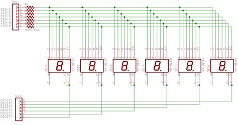 led multiplexing resistor led multiplexing