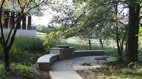 The Memorial Garden Powell Gardens Kansas City S Memorial Botanical Garden