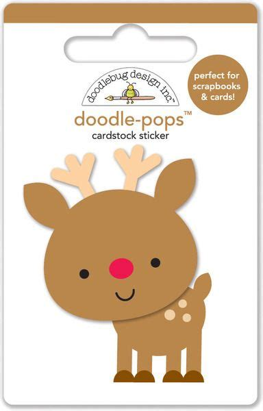 doodle pop doodlebug design santa express collection