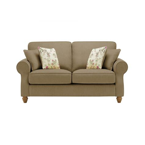 oak furniture land sofa amelia 2 seater sofa in polla silver oak furniture land