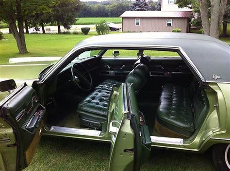 automobile air conditioning repair 1993 chrysler lebaron interior lighting find used 1973 chrysler imperial lebaron hardtop 4 door 7 2l in osterburg pennsylvania united