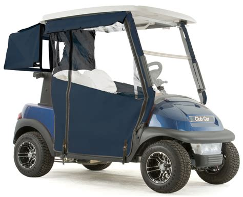 3 Sided Golf Cart Enclosures by Club Car Precedent Quot Pro Touring Quot 3 Sided Sunbrella Track