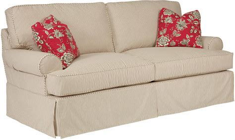 Samantha Slipcover Sofa Pillow Back Sofa Slipcover