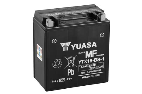 Motorrad Batterie Anzeige by Ytx16 Bs 1 Motorrad Powersport Alle Anzeigen Batterien