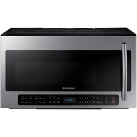 Appliance Paint For Microwave Interior by Samsung 30 In 2 1 Cu Ft The Range Microwave In