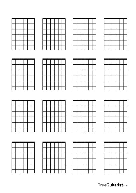 7 string guitar free blank templates trueguitarist com
