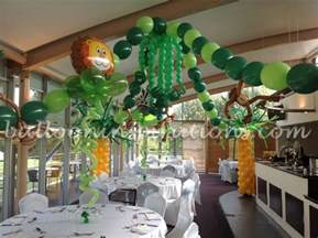 themed decoration ideas themed children s jungle themed birthday