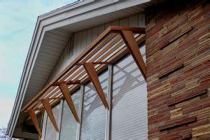 mid century awning sleek design  sun break