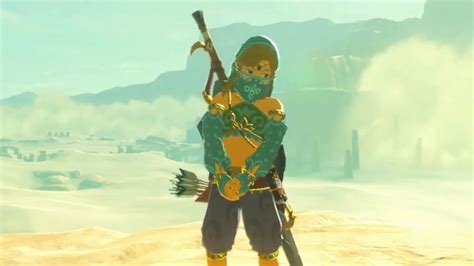 Link Cloth tloz breath of the link wearing clothes