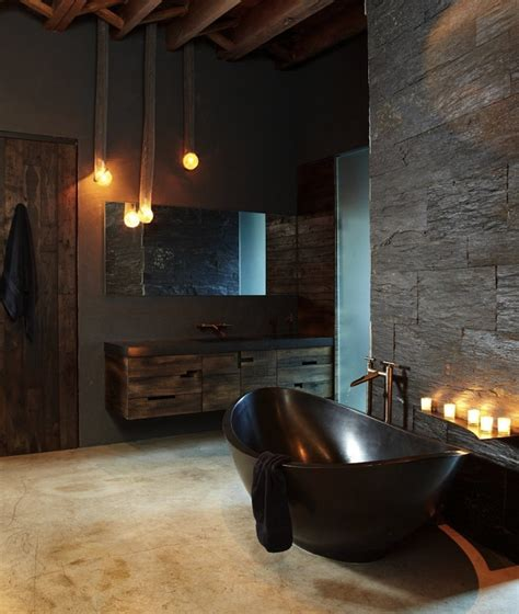 dark bathroom 5 industrial bathroom design ideas to glam up your home