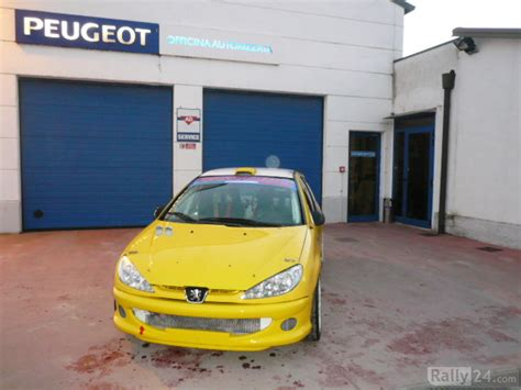 peugeot 206 rc a7 rally rally cars for sale