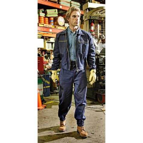 Set Overral Army Calista new italian work set navy blue 211008 overall