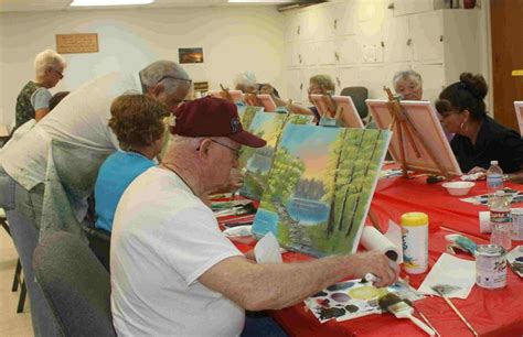 bob ross painting classes florida larrys painting classes woodlands and
