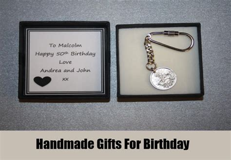 Handmade Gifts For Birthdays - 50th birthday gift ideas for gift ideas for