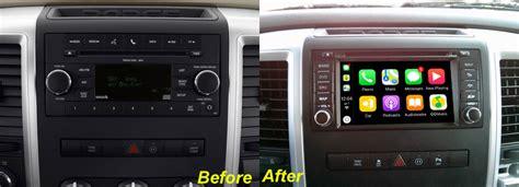 dodge ram 1500 2500 3500 4500 aftermarket gps navigation car stereo 2007 2012