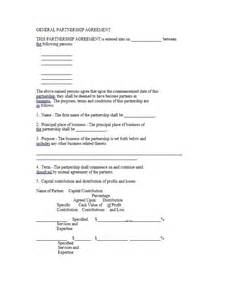 50 50 Partnership Agreement Template 40 free partnership agreement templates business general