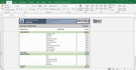 excel household budget template personal budget worksheet excel the