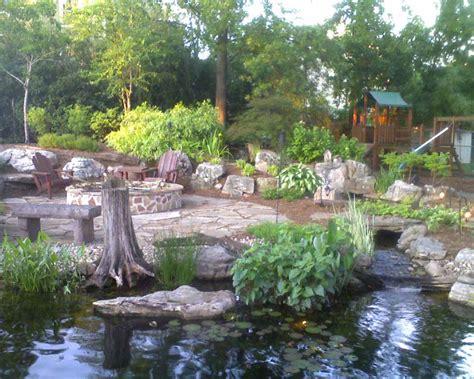 backyard ch triyae com backyard retreats patios and ponds various