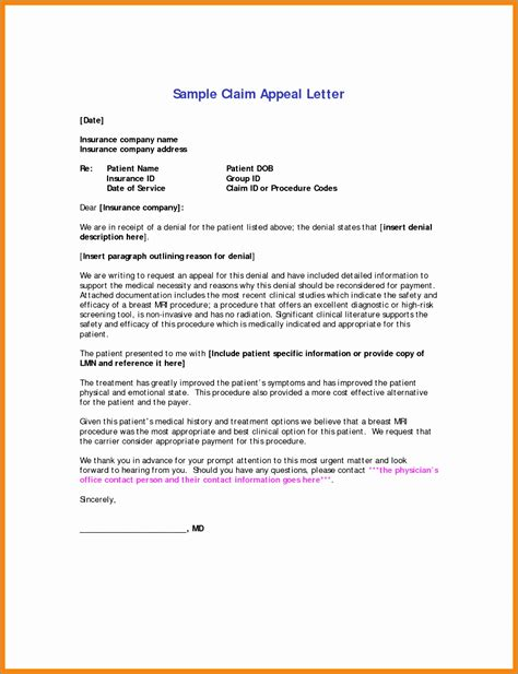 Appeal Letter Template For Redundancy appeal letter sle sle appeal letter for college