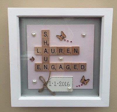 Wedding Box Frame Ideas by 25 Best Ideas About Engagement Gifts On