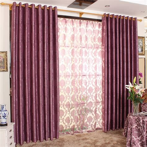 deep purple curtains deep purple curtains set the individual character of your
