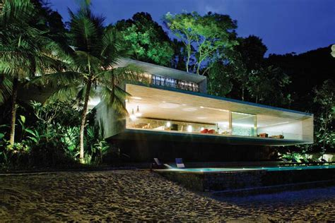 paraty house sao paulo beach property  architect
